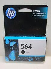 NEW SEALED Genuine HP 564 Ink Cartridge Black C2P52AN Exp Feb 2018