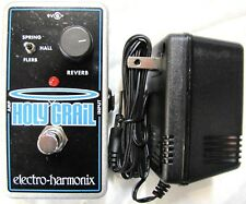Used Electro-Harmonix EHX Holy Grail Reverb Guitar Effects Nano Pedal