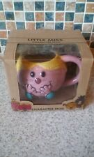 VINTAGE RETRO LITTLE MISS PRINCESS MUG 9CM HIGH 8CM DIAM BOXED ROGER HARGREAVES
