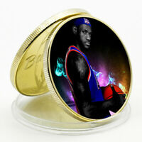 Challenge Coin LeBron James Commemorative Lucky Gold Plated Metal Coin Art Craft