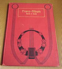 Franz-Album Band 3 für hohe Stimme und Klavier