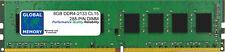 8GB (1 X 8GB) DDR4 2133MHz PC4-17000 288-PIN RAM de memoria DIMM para computadoras de escritorio/PC