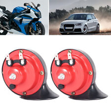 12V Snail Loud Car Air Horn Set Dual Tone Bike Van Boat Siren Twin Lorry Horns
