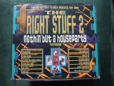 "VA - The Right Stuff 2.Nothin' But A Houseparty Double Fatbox CD.28 12"" Remixes."
