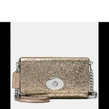 COACH GLITTER CROSSTOWN CROSS BODY STYLE 36561 NEW WITH TAG