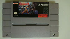Super Castlevania IV - Game Only, Rental Sticker on Back, Authentic, (SNES 1991)
