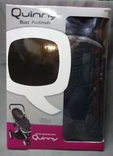 Quinny Buzz Footmuff - Black (CL285)