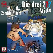 CD * DIE DREI ??? (FRAGEZEICHEN) KIDS - 54 - ZOMBIE-ALARM # NEU OVP =