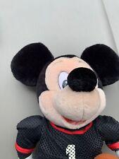 "New listing Walt Disney World Mickey Mouse Football Player 14"" Plush Toy Cs1"