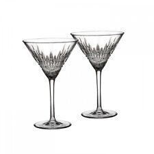 New Waterford Lismore Diamond Martini, Pair
