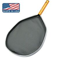 Swimming Pool Pond Leaf Skimmer Rake Net Hot Tub Spa Cleaning Leaves Mesh Tool