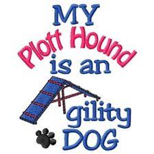 My Plott Hound is An Agility Dog Fleece Jacket - Dc1820L Size S - Xxl
