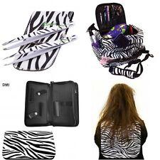 PRO Parrucchiere College/STARTER KIT BACI Zebra Borsa Custodia Pinzette taglio Colletto