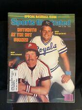 Mike Schmidt-George Brett Sports Illustrated 1981 - MINT