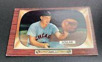 1955 Bowman # 174 Sherman Lollar Sherm Baseball Card Chicago White Sox