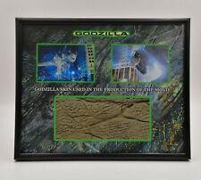 GODZILLA 1998 SKIN PIECE PROP DISPLAY BRODERICK RARE COA