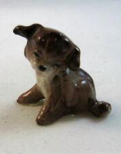 Hagen Renaker made in America miniature Puppy dog Scratching Retired