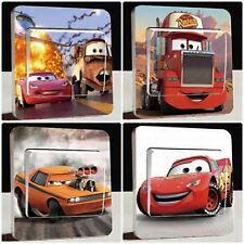 """Lichtschalter Sticker Aufkleber Disney Cars  """"Turbo Rotz"""""""