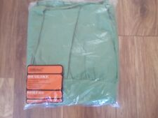 ST MICHAEL GREEN VALANCE FOR DOUBLE BED BRAND NEW AND SEALED