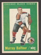 1959-60  TOPPS  # 33  MURRAY BALFOUR  RC   INV J481