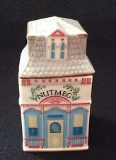 "Lenox ""Spice Village"" 1989  NUTMEG Cottage Fine Porcelain"