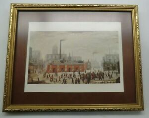 Pair of Framed Art Prints by L S Lowry