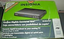 Insignia NS-DXA1-APT Digital TV Tuner Converter Box Digital to Analog Cables Rem