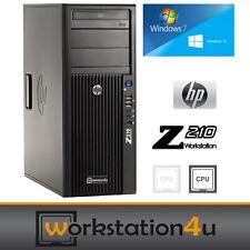 HP Z210 Workstation Intel Core i7 2600 16GB RAM 240GB SSD Gaming RX570 8GB Win10