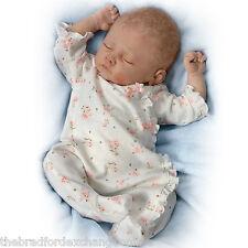 Ashton-Drake Sophia Lifelike Baby Doll Breathes, Coos And Has Heartbeat