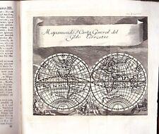 Goudin Philosophia Thomistica 1769 1770 Vellum Engravings Maps Astronomy 2 Vols