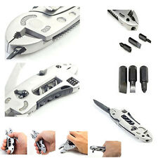 Verstellbarer Schraubenschlüssel Maul Schraubendreher Zangen Messer Getriebe