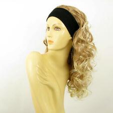 Perruque avec bandeau blond clair cuivré blond clair ref BUTTERFLY en 27T613