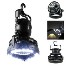 2 in 1 Camping LED Lantern & Ceiling Fan Light Hanging Tent Lamp Outdoor Hiking