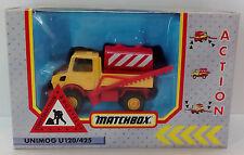 VTG 1991 MATCHBOX ACTION UNIMOG U120/425 CONSTRUCTION VEHICLE MISB SEALED