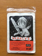 New Vintage Pex Nearlys Womens Stockings 1950s 1960s, Brown, Nylons, Size 10-11