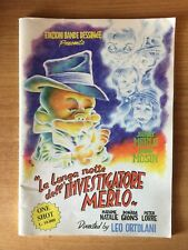 RAT-MAN - La Lunga notte dell'investigatore Merlo - ORTOLANI PRIMA EDIZIONE BD