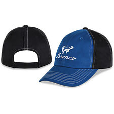 Ford Bronco Blue and Black Unstructured Cotton Hat