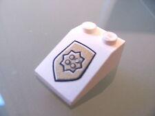 LEGO 3298pb028 @@ Slope 33 3 x 2 World City Gold Police Badge Pattern @@ 7033