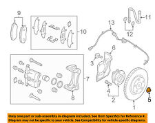 MAZDA OEM 10-18 3-Axle Nut D65133042A