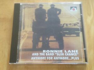 Ronnie Lane and Slim Chance - Anymore for Anymore…Plus (CD)