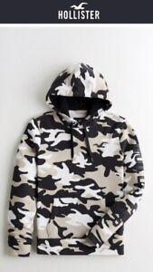 Hollister Herren Hoodie Camouflage Gr.S Neu Mit Etikett