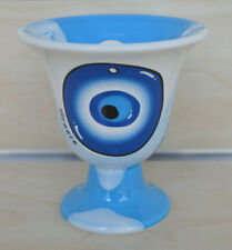 Pythagoras cup Pythagorean cup of justice evil eye protector light blue