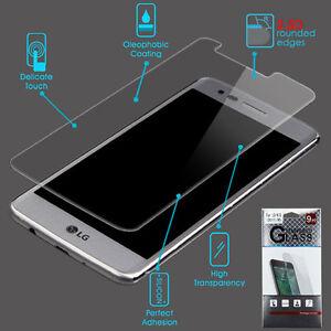 For  LG V5 K10 K20 Plus ShockProof Tempered Glass Screen Protector Film Guard 9H