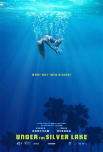 "2018 Thriller Film Under the Silver Lake Movie Poster 18x12 30x20 36x24"""