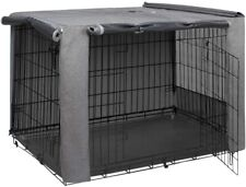 "HiCaptain Double Door Dog Crate Cover 30"" New"