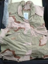 US Army Military DCU Desert Camo  PASGT Combat Vest Cover Size  X-Small  New