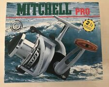Mitchell Nautil 7500 Pro GV - Front Drag Spinning Reel Black Great Condition