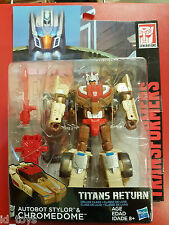 Transformers Titans Return Wave 2 Deluxe Chromedome NEW