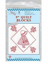 Jack Dempsey Stamped White Quilt Blocks - 234551