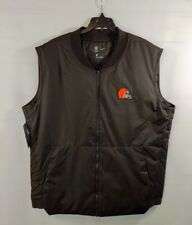 NWT Nike Cleveland Browns Sideline Full-Zip Vest Jacket 944336239 Medium OnField